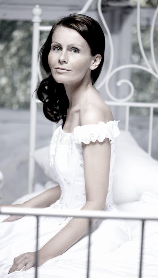 красивейший портрет невесты стоковое изображение