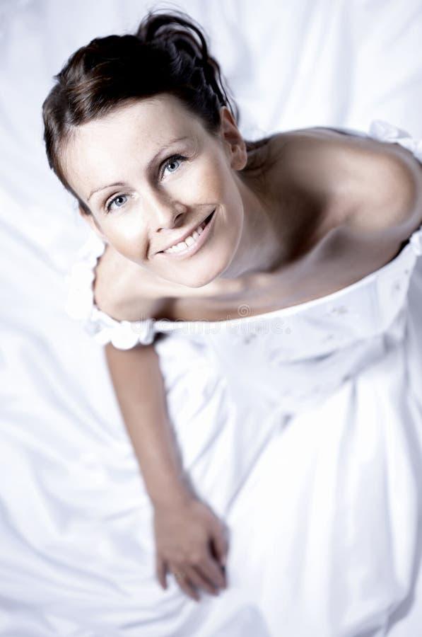 красивейший портрет невесты стоковая фотография rf