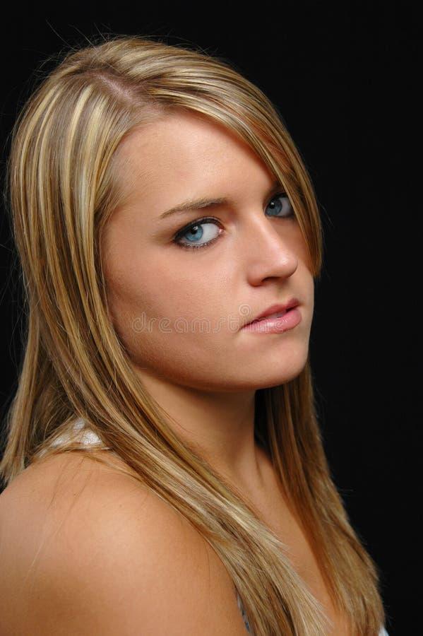 красивейший портрет предназначенный для подростков стоковое изображение rf