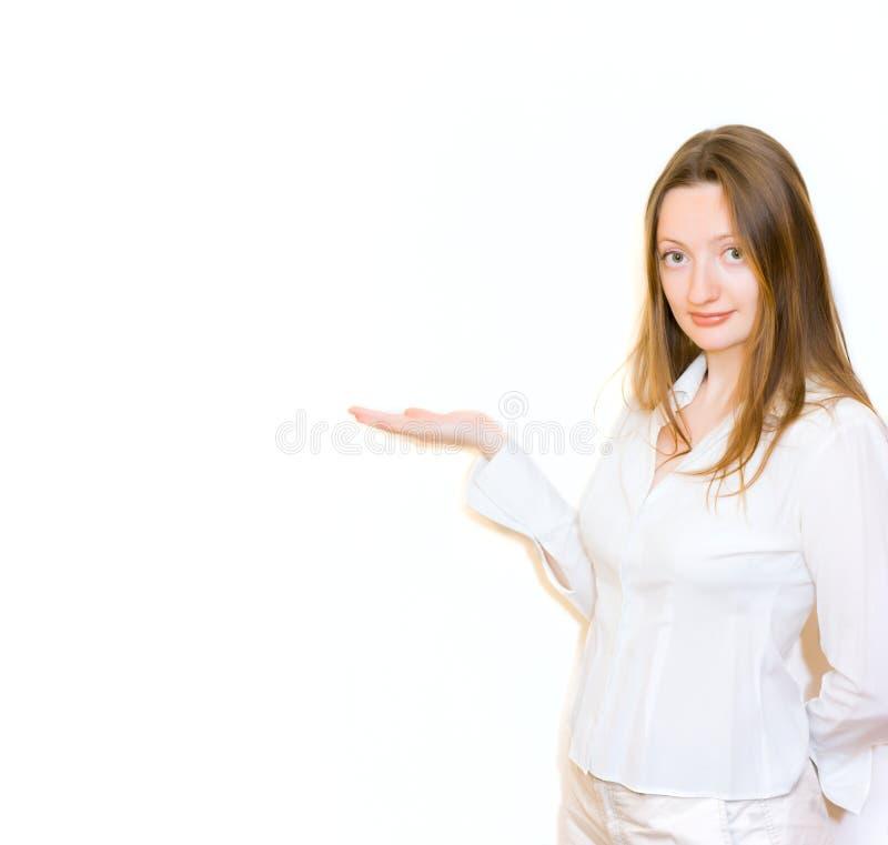 красивейший пункт что-то детеныши женщины стоковая фотография rf