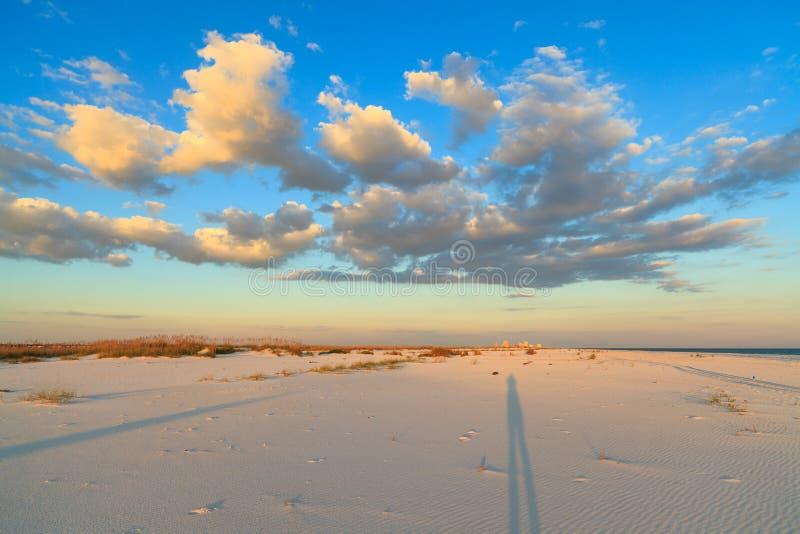 Красивейший пляж стоковое изображение rf