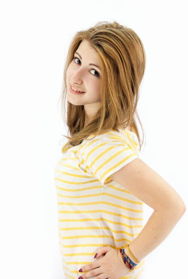 красивейший усмехаться девушки подростковый стоковые изображения