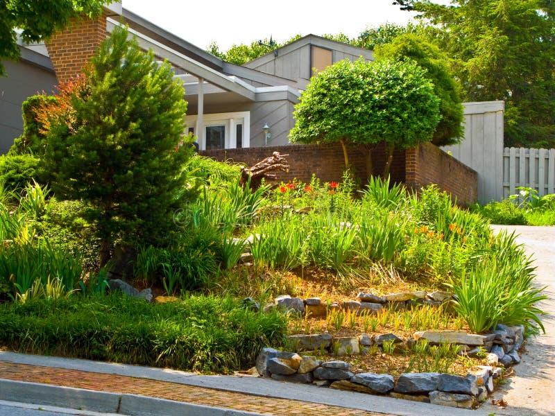 красивейший landscaping стоковое изображение rf