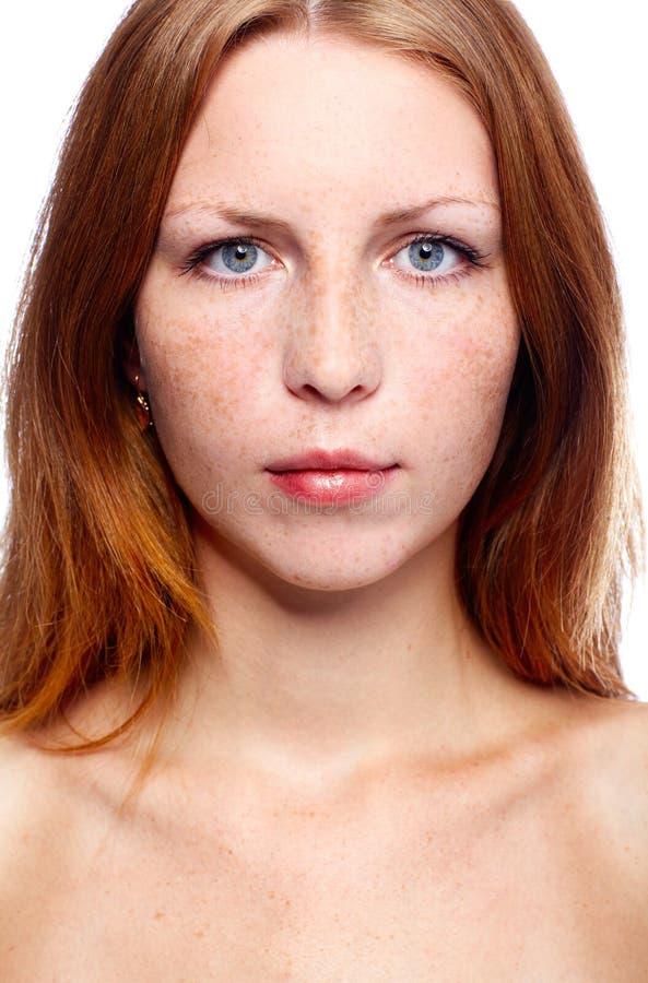 красивейший redhead девушки стоковые фото