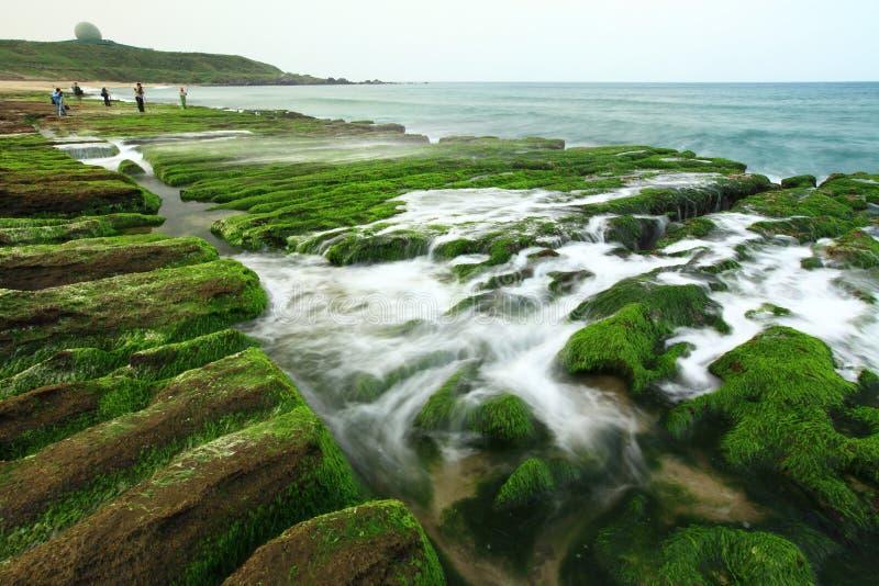 красивейший seacoast стоковое изображение