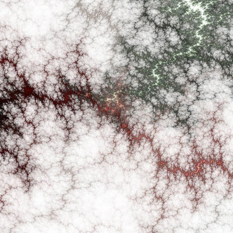 Красивое абстрактное изображение компьютер детализирует произведенную фракталью текстуру картины mirco стоковые фотографии rf