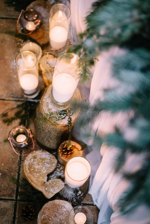 Красивое время свадьбы стоковые изображения rf