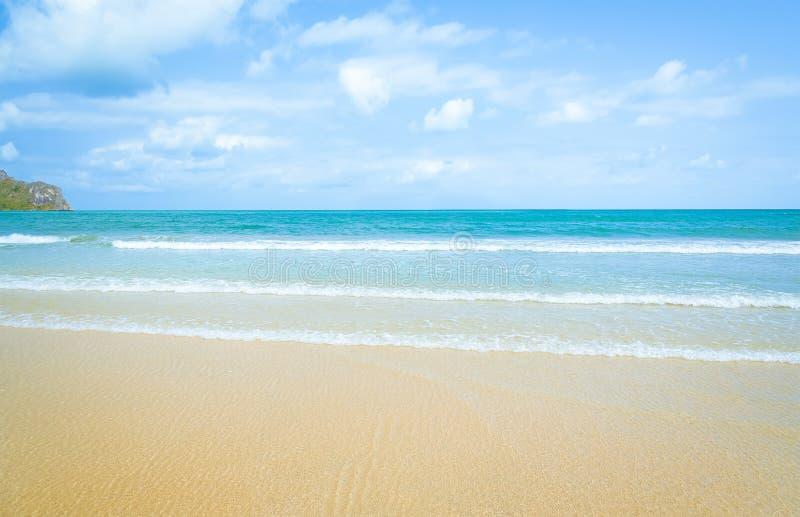 Красивое лето моря стоковые изображения rf