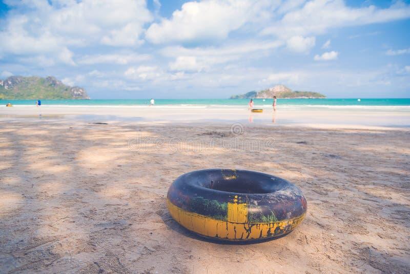 Красивое лето моря стоковые фотографии rf