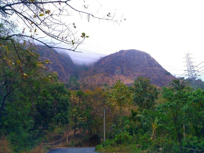 Красивое изображение горы стоковое изображение