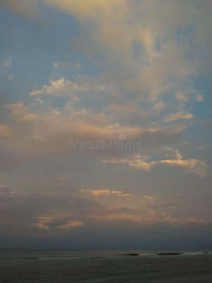Красивое искусство неба которое захвачено стоковые изображения