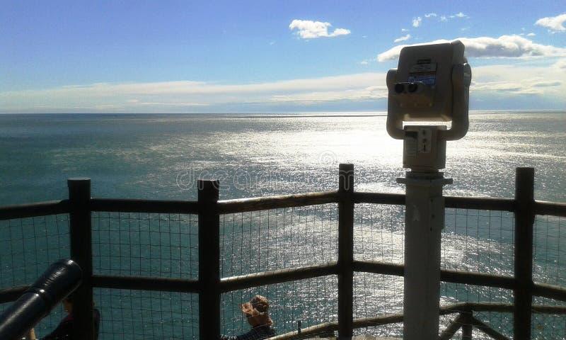 Красивое красочное море стоковая фотография rf