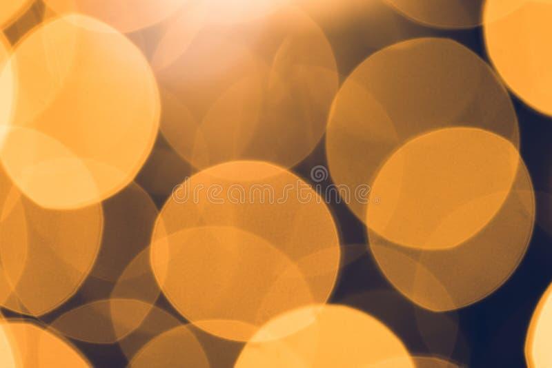 красивое круглое bokeh стоковое изображение