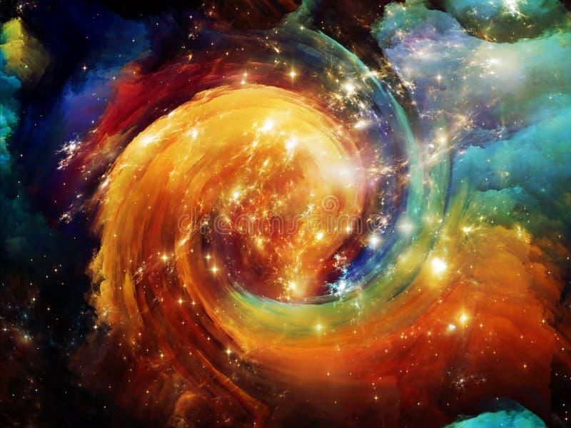 Download Красивое межзвёздное облако Иллюстрация штока - иллюстрации насчитывающей созвездие, асимметрией: 40589126