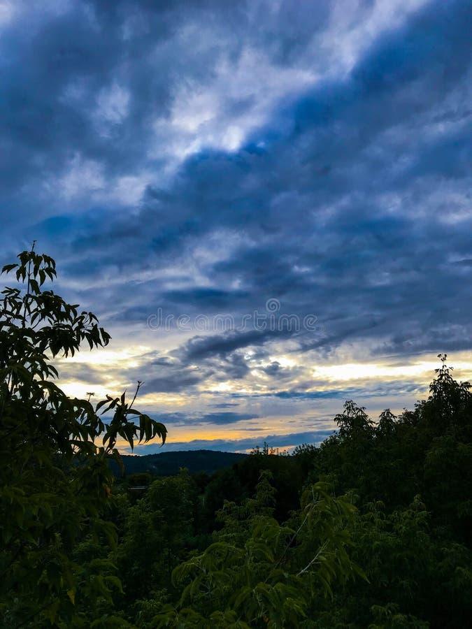 Красивое небо стоковые фото