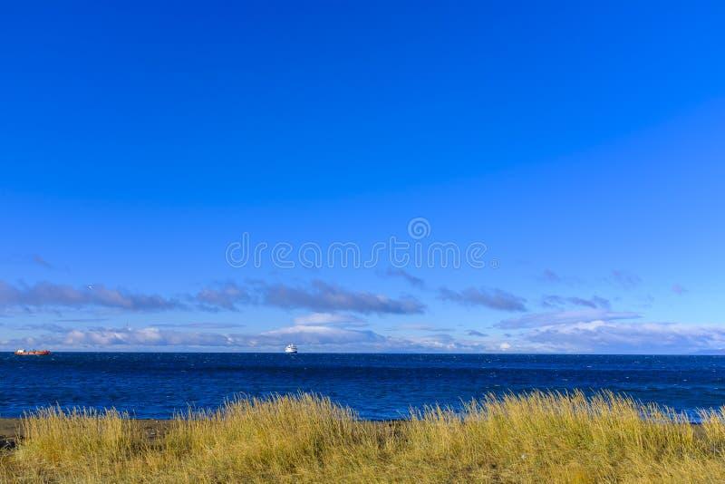 Красивое побережье около арен Punta стоковое фото rf