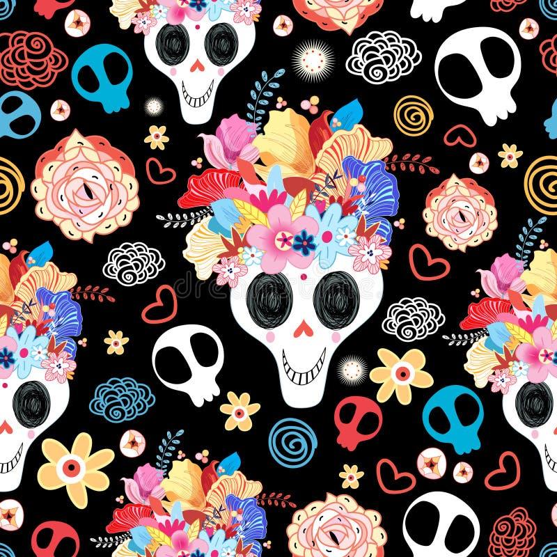 Красивое черепов бесплатная иллюстрация