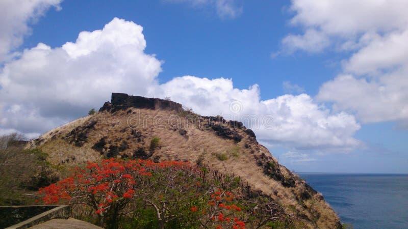 Красивое cliffside стоковое изображение rf