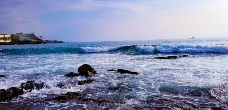 Красивое Oceanview стоковое фото rf