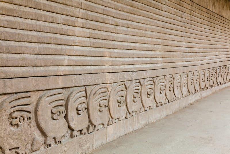 Красиво высекаенные стены стоковые изображения rf