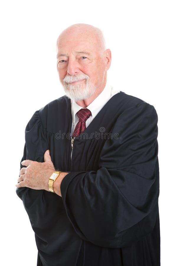 Красиво созрейте судья стоковое фото