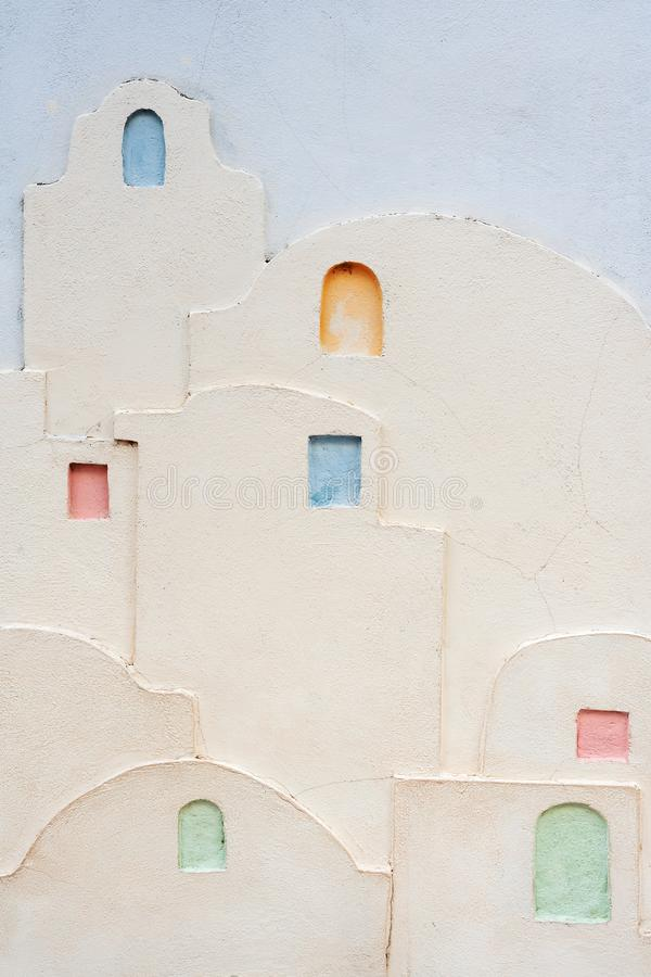 Красиво украшенные стены стоковые фото