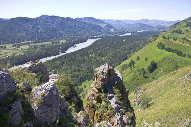 Красивые ландшафты Сибиря стоковая фотография rf