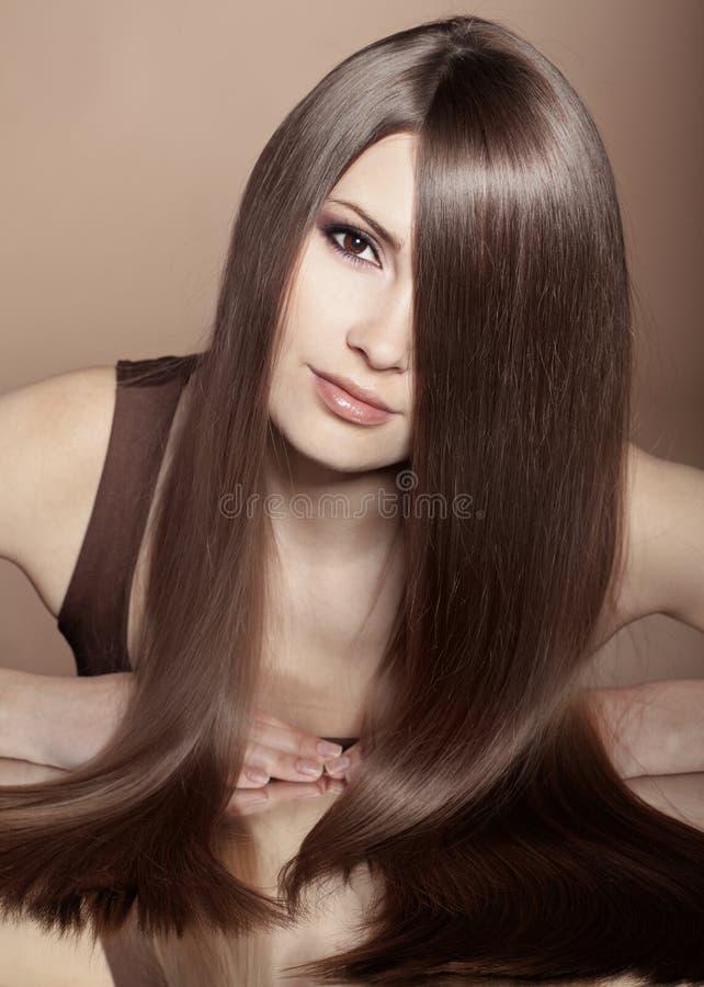 Красивые волосы стоковая фотография rf