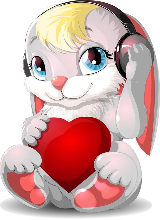 Красивые зайцы бесплатная иллюстрация