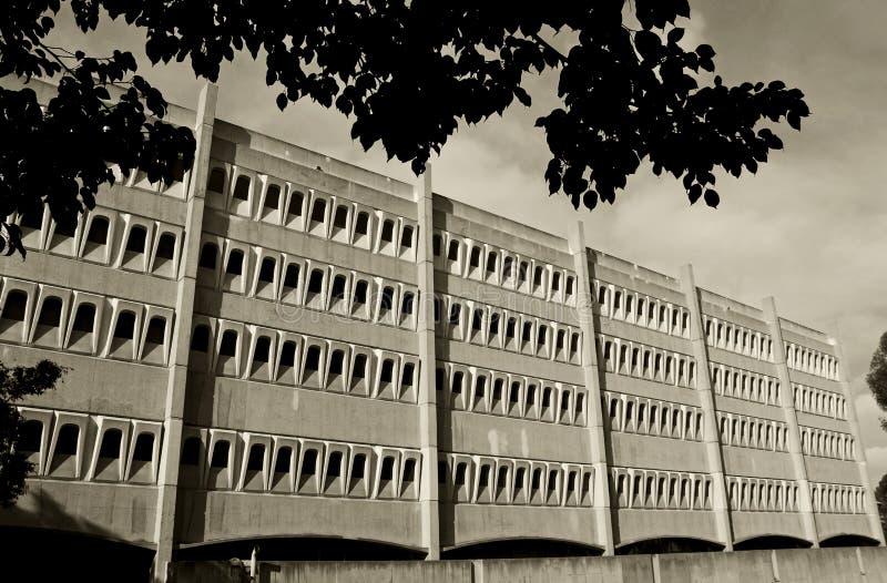 Красивые здания биомедицинской науки, UCSD стоковые фотографии rf