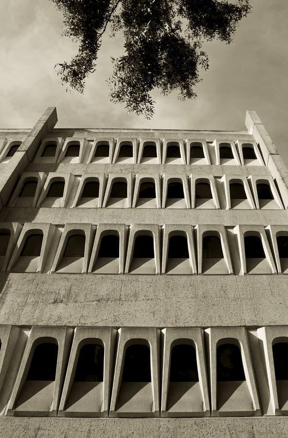 Красивые здания биомедицинской науки, UCSD стоковые изображения rf