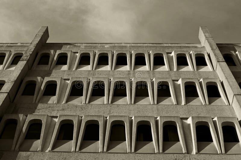 Красивые здания биомедицинской науки, UCSD стоковое изображение rf