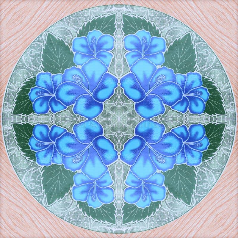 Красивые картины стены керамической плитки цветка иллюстрация штока