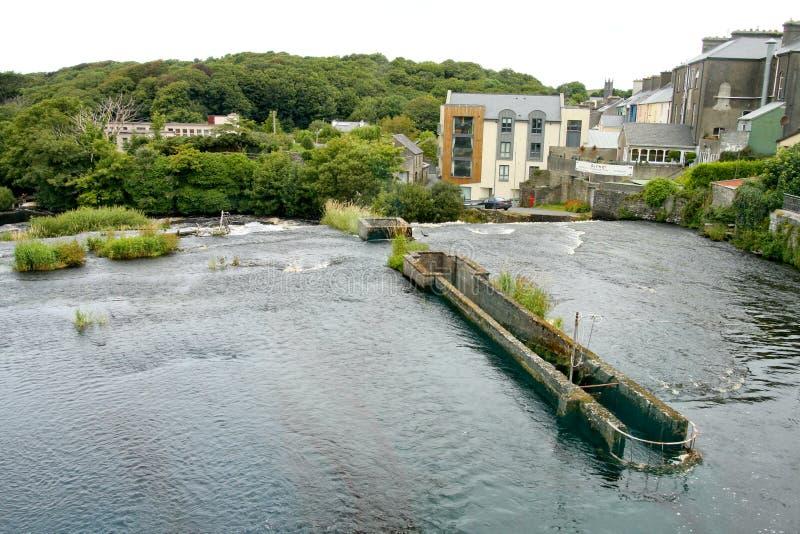 Красивые каскады Ennistymon, Ирландии стоковые фотографии rf