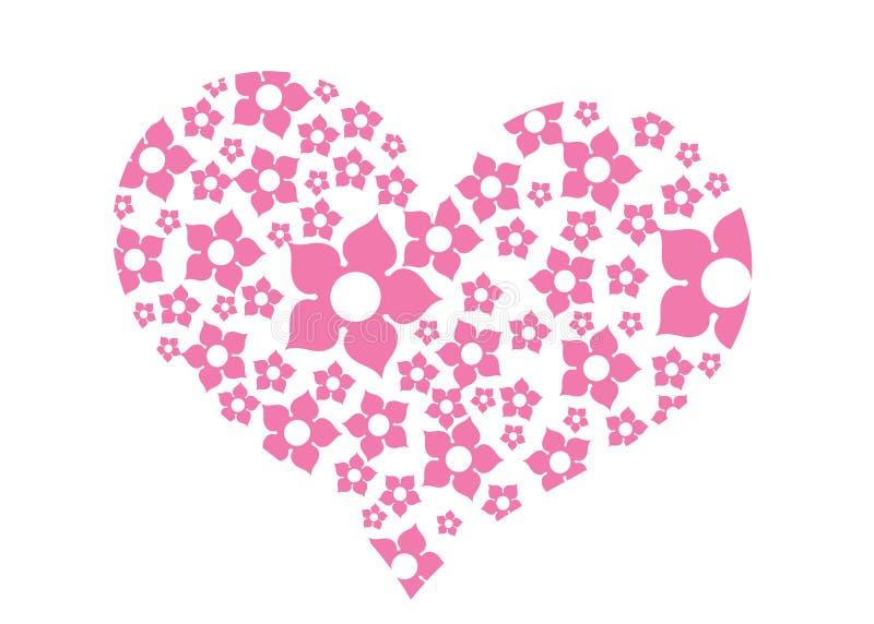 Красивые конспект или плакат для влюбленности с славным и творческим дизайном иллюстрация штока