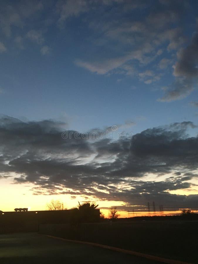 Красивые небеса стоковое фото