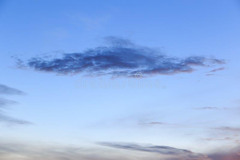 Красивые небо восхода солнца и пасмурный стоковые изображения rf
