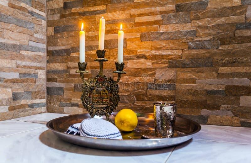 Красивые объекты Judaica стоковое изображение rf