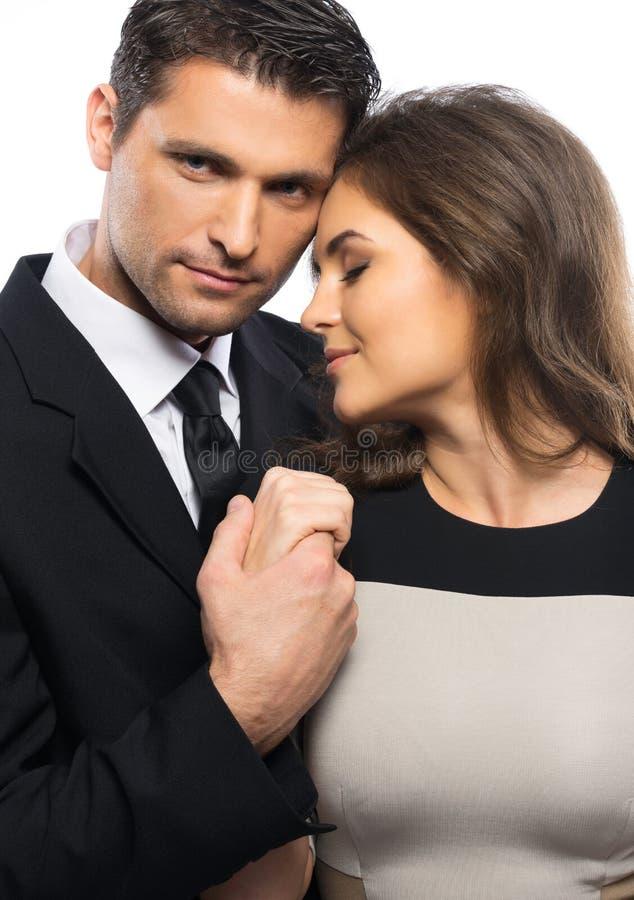 Красивые пары в влюбленности стоковые изображения rf