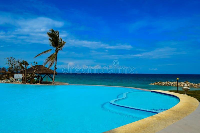 Красивые песчаные пляжи острова Camotes, Филиппин стоковое фото rf