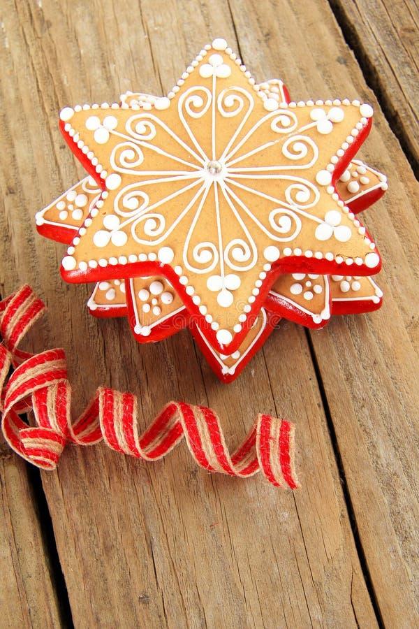 Красивые печенья рождества стоковая фотография rf