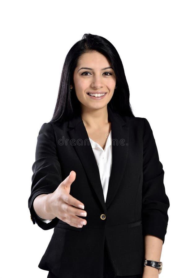 Красивые привлекательные бизнес-леди стоковое изображение
