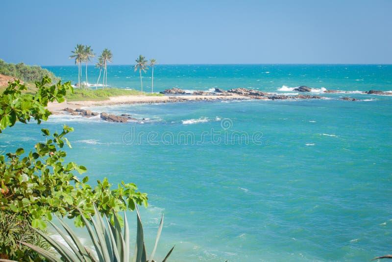 Красивые пляжи Шри-Ланки стоковые фотографии rf