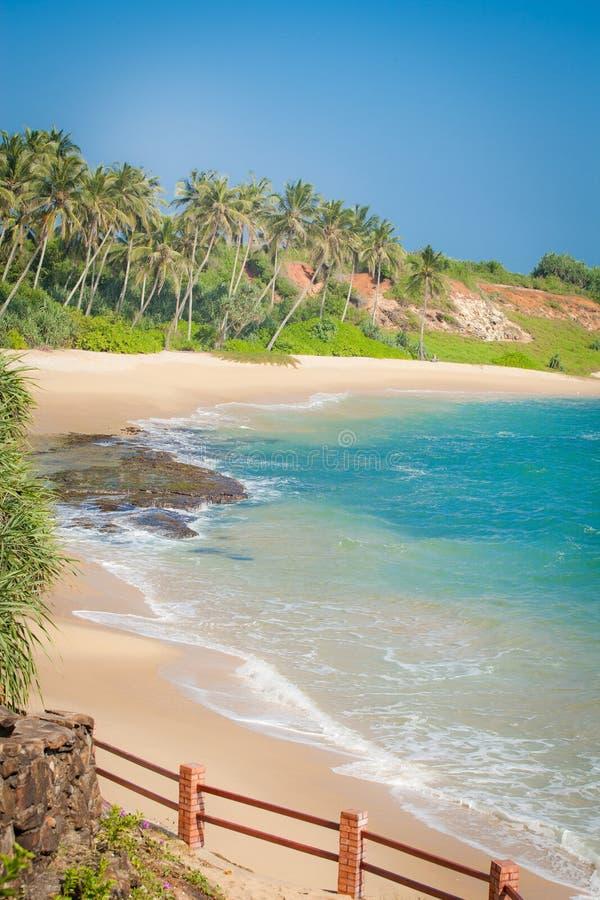 Красивые пляжи Шри-Ланки стоковое фото rf