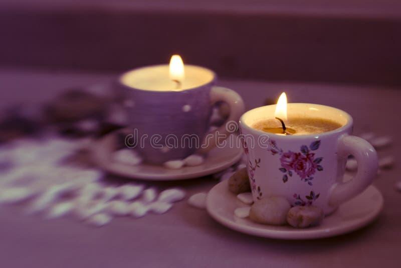 Красивые свечи стоковые фото