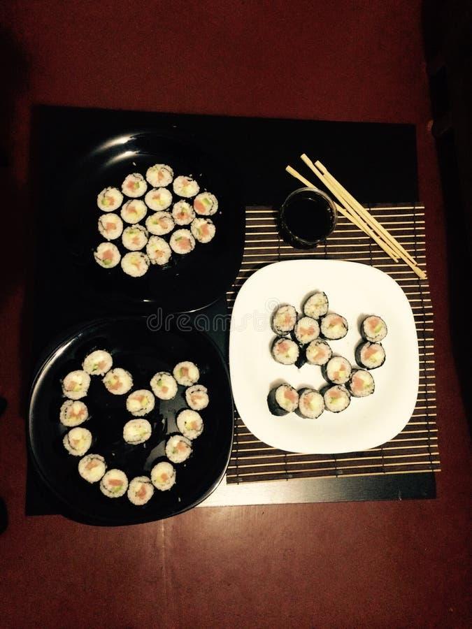 Красивые суши стоковые фотографии rf
