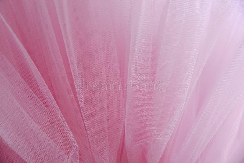 Красивые слои чувствительной розовой предпосылки ткани стоковая фотография rf