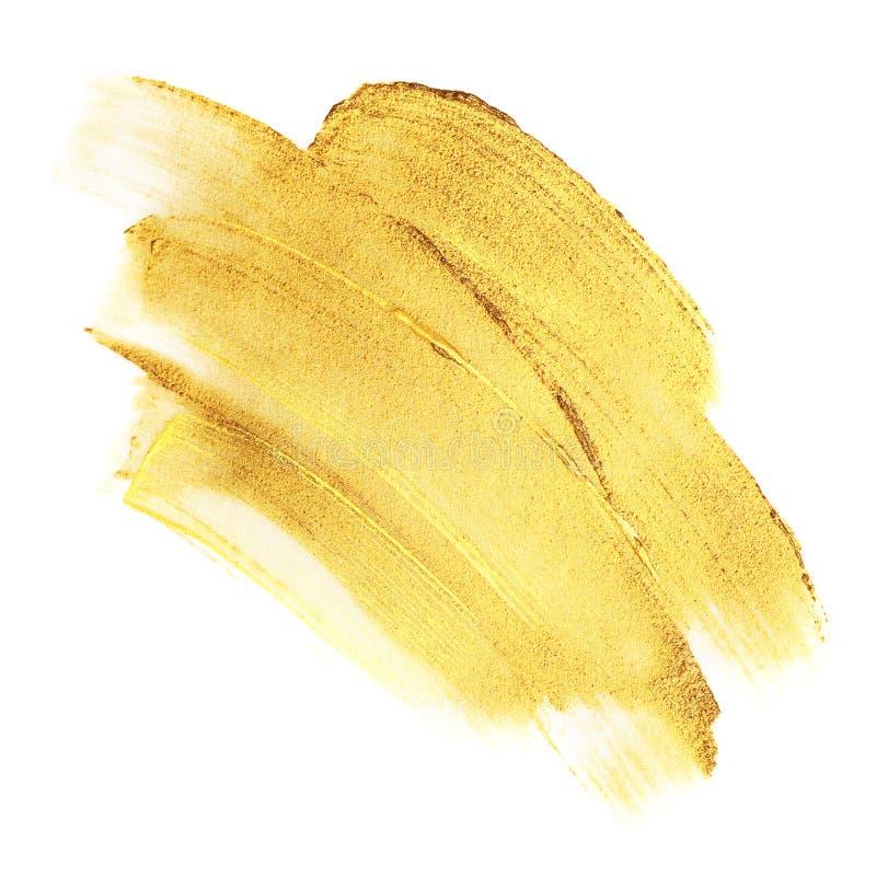 Красивые текстурированные золотые ходы стоковая фотография rf