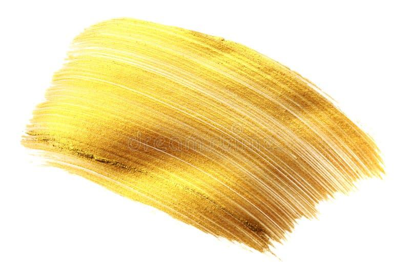 Красивые текстурированные золотые ходы стоковые изображения
