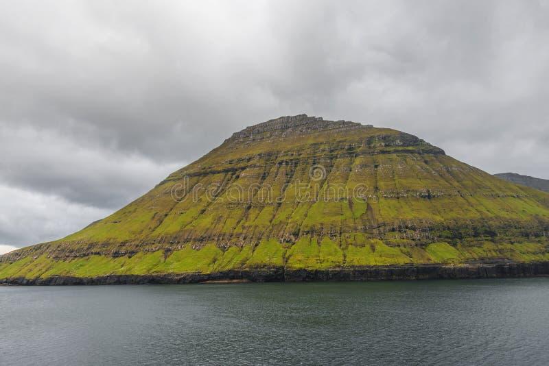 Красивые Фарерские острова, временя стоковые фотографии rf